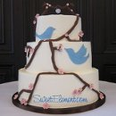 130x130_sq_1332532690164-bluebirdcherryblossombuttercreamweddingcake