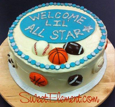 600x600 1337273740679 chocolatesportsballsbabyshowercake