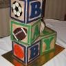 96x96 sq 1337273743766 sportsbabyblockscake
