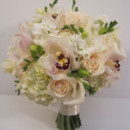 130x130 sq 1427847934267 hydrangea rose cymbid and freesia bouquet 500