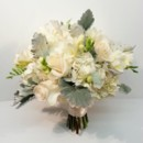130x130 sq 1427847947662 ivory hydrangea roses freesia and dusty millar bou