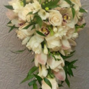 130x130 sq 1427847951267 ivory rose cymbidium orchid freesia cascade bouque