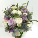 130x130 sq 1428017657510 natural rustic lavender and purple bouquet