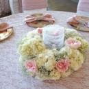 130x130 sq 1428017828967 ivory hydrangea pink garden rose babies breath ron