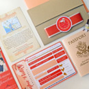 130x130 sq 1381631253040 christina taupe and coral passport and boardding pass invitation 11