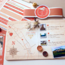 130x130 sq 1381631257113 christina taupe and coral passport and boardding pass invitation 12