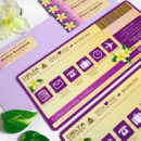 130x130 sq 1381631320612 deola purple boarding pass save the date 3