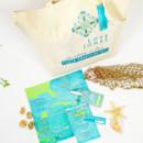 130x130 sq 1382119309238 courtney punta cana custom tote bag and welcome kit 2