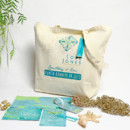 130x130 sq 1382119322425 courtney punta cana custom tote bag and welcome kit 3