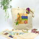 130x130 sq 1382119367957 jehan peacock riviera maya custom tote bag and welcome kit 4