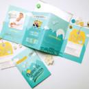 130x130 sq 1418613660444 diane accordion fold invitation with luggage tag r