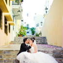 Maria and Julian's destination wedding at the Cathedral of Old San Juan in San Juan, Puerto Rico. Reception at Casa de Olimpica | Couples Portraits