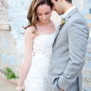 Cara and James bridal test shoot in the West Loop of Chicago, Illinois | Couples Portraits