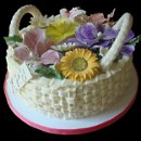 130x130 sq 1318541632952 basketcakewithsummerflowers