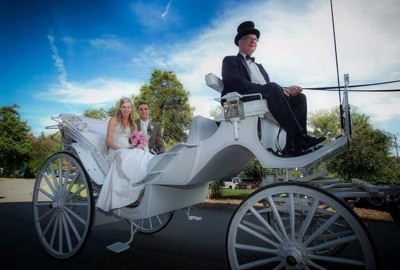 Classic carriage transportation staunton va weddingwire for Front royal wedding venues
