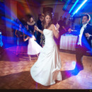 130x130 sq 1416372297337 wedding coupledanceing with blue lights