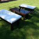 130x130 sq 1426286052246 rustic wood bench 3   onover