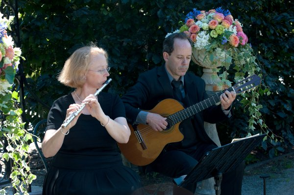 photo 5 of Alla Breve Guitar and Flute Duo