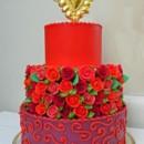 130x130 sq 1472147144913 red rose cake  susan cranston