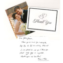 130x130 sq 1389766831917 hedglin wedding thank you note complet