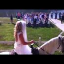 130x130 sq 1487641880498 bride on horse wedding 091016 02