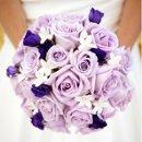 130x130 sq 1318819013655 purplebouquet