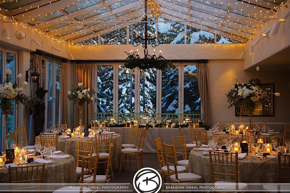 Sonnenalp hotel venue vail co weddingwire for Wedding dress rental denver co