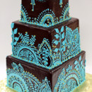 130x130_sq_1408654830804-3tot-ganache-wedding-cake-aqua-teal-custom-henna-d