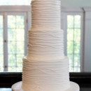 130x130 sq 1470858110128 3tot white buttercream wedding cake textured branc