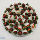 130x130 sq 1470930565666 chocolate covered strawberries platter 2