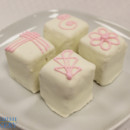 130x130 sq 1470930985839 almond truffle custom white with pink deco 23