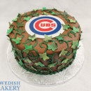 130x130 sq 1470944687781 st brown green fondant cubs wafer baseball ivy gre