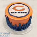 130x130 sq 1470944742090 st orange  blue fondant chicago bears wafer skylin