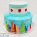 130x130 sq 1470944774625 2tot blue white  multicolor fondant chicago flag s