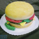 130x130 sq 1470947025314 hamburger sculpted fondant 2 web
