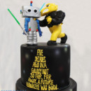 130x130 sq 1471008888340 3tot black  yellow fondant star wars 50th birthday