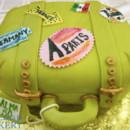 130x130 sq 1471010769549 green marzipan sculpted suitcase web