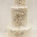 130x130 sq 1471025802961 3tot white buttercream  fondant cascading snowflak