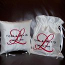130x130 sq 1281449487642 custommonogramringpillowmoneybag