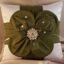 130x130 sq 1285072406235 satinflowerbroochpillow