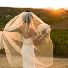 220x220 sq 1480668300121 falkner sunset bride