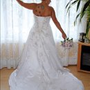 130x130 sq 1355244048285 bridesweddingdressbouquet