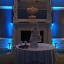 130x130 sq 1475046398329 city club wedding cake uplighting   lt blue