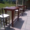 130x130 sq 1413905582074 lakes area rental rustic pub tables