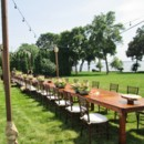 130x130 sq 1417723399608 lakes area rental farm tables and string lighting