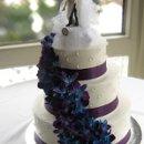130x130 sq 1310418077020 weddingcakeblueorchids