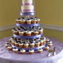 130x130 sq 1310418106506 weddingcakecupcakecakepurples