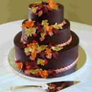 130x130 sq 1310419865330 weddingcakeoakfallleaves