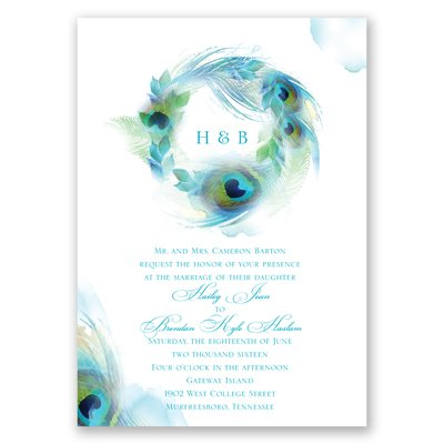 http://www.invitationsbydawn.com/Wedding-Invitations/View-All-Wedding-Invitations/2657-DW25702FCPX-Peacock-Whimsy--Peacock--Invitation.pro