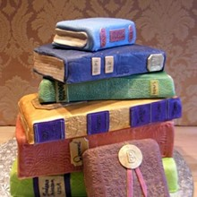 220x220 sq 1233252925953 sedona library cake   by sedona cake couture